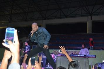 Husein Alatas saat Tampil di Kupang
