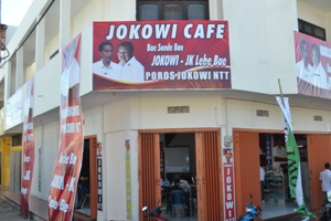 Poros Jokowi NTT di Oebobo Kupang