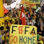 Protes Ajang Piala Dunia di Brazil