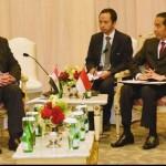 okowi dan Ibrahim Mahlab menyoroti persoalan instabilitas yang kini melanda Timur Tengah akibat aksi terorisme beberapa kelompok militan. (Dok. Andi Widjajanto)