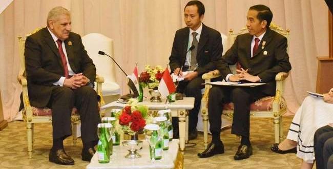 Dengan Mesir, Jokowi Soroti Persoalan Timur Tengah
