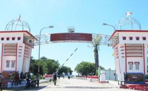 Gerbang-perbatasan-Indonesia-dan-Timor-Leste