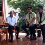 Ketua umum PKRI - dr. Karolin Margret Natasa bersama Sekretaris Jenderal - Christopher Nugroho dan sejumlah pengurus pusat PKRI saat bertemu Gubernur NTT - Viktor Laikodat.
