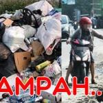 Ilustrasi Sampah Yang Tidak Ditangani Secara Baik