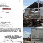 Surat Panggilan Saksi & Kondisi Lapangan Pada Dugaan Kasus Proyek Gedung NTT Fair