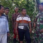 Ahli Waris Saat Berdialog Dengan TNI Di Lokasi Desa Naunu