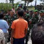 Situasi Saat Warga Minta TNI Hentikan Aktivitas Pembangunan