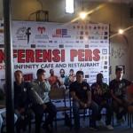 Acara Jumpa Pers Bersama Para Petinju dan Promotor (Elisabeth Liu Sementara Berbicara)