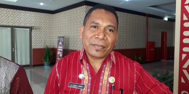 Kepala Dinas Pendapatan dan Aset Daerah Provinsi Nusa Tenggara Timur, Dr. Zeth Sony Libing