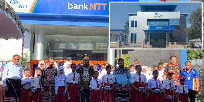 Kantor Bank NTT Cabang Kalabahi Diresmikan