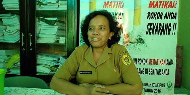 Kepala Bidang (Kabid) Penanggulangan dan Pengamatan Penyakit (P2P) Dinas Kesehatan Kota Kupang, Sri Wahyuningsih