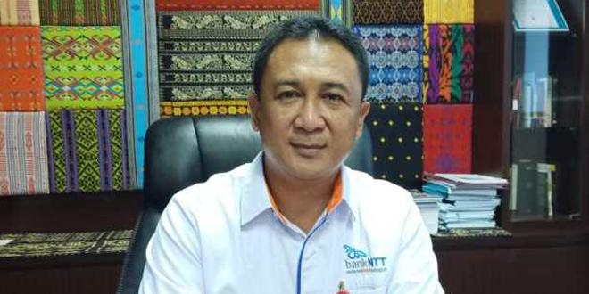 Direktur Pemasaran Dana Bank NTT, Alex Riwu Kaho