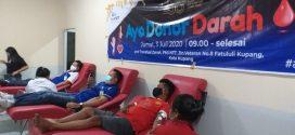 Bank NTT Sumbang 103 Kantong Darah ke PMI Kupang