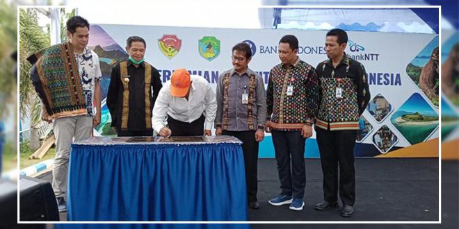 Kantor Kas Titipan Bank Indonesia di Kantor Bank NTT Cabang Labuan Bajo, Diresmikan
