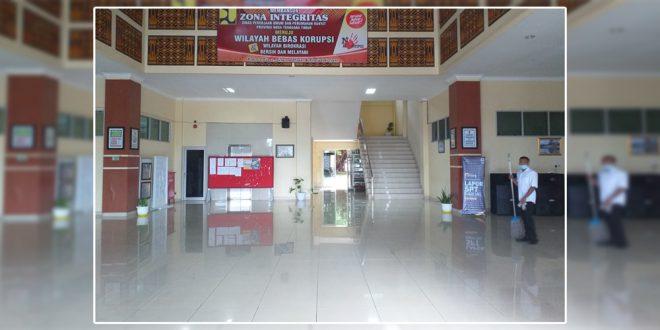 Selain Terapkan Protokol Kesehatan, Dinas PUPR Provinsi NTT Cegah Corona Lewat Jaga Kebersihan Kantor