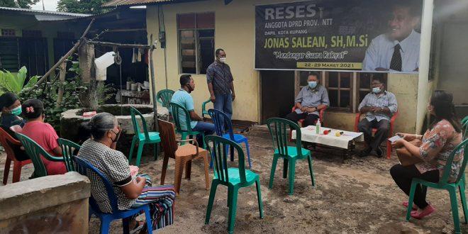 Ditanya Maju Walikota 2024, Jonas Salean Mengaku Masih Fokus Sebagai Anggota DPRD