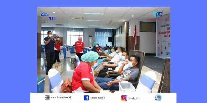 Bantu Pasien Covid-19, Bank NTT Gelar Aksi Donor Darah dan Plasma Konvalesen