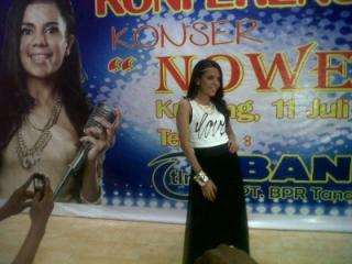 Malam Ini, Nowela 'Idol' Hibur Warga Kota Kupang