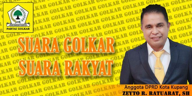 Zeyto Ratuarat Dipercayakan Partai Golkar Maju Wakil Walikota Kupang 2024