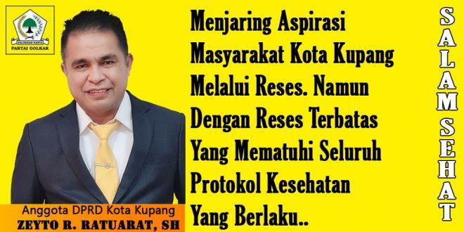 Zeyto Ratuarat Siap Perjuangkan Kebutuhan Nelayan Kota Kupang